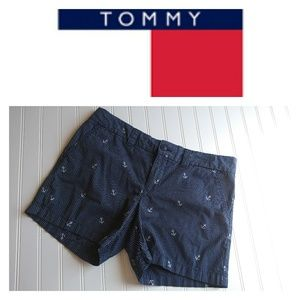 Tommy Hilfiger Navy Shorts with anchors